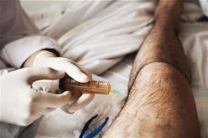 Фотография укола при артрите