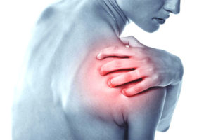 Фото больного плечевого сустава