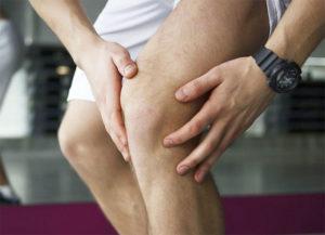 больное колено при остеоартрозе суставов