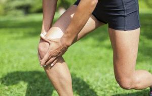 спортивная травма при боли в коленях
