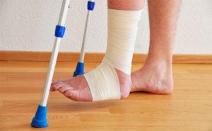 виды травм ноги