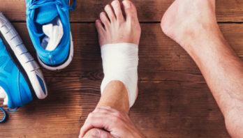 Растяжение связок голеностопного сустава – симптомы и лечение