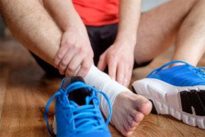 растяжение связок голеностопного сустава как лечить