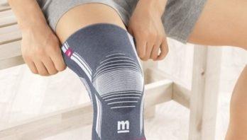 Наколенники при артрозе коленного сустава: виды, правила носки и противопоказания
