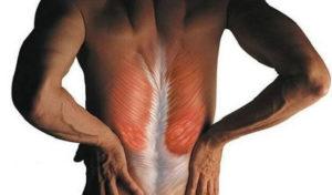 больная спина фотография как лечить мышцы