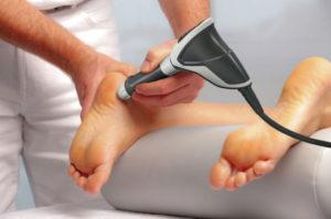 Ударно-волновая терапия пяточной шпоры