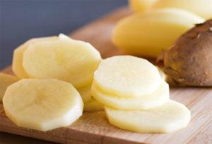 картофель как способ лечения затылочной боли