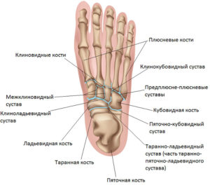 ноги при болезни келлера