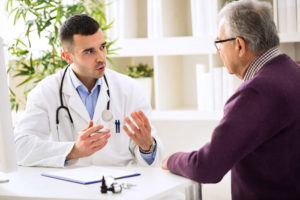 правильный осмотр заболевания у врача