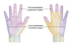 распространённые причины немения рук