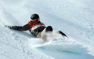 сноуборд и копчик
