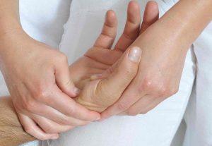 массаж рук при онемении