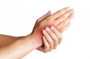 Ушиб запястья руки